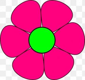 Tropical Flower Clipart - Flower Free Content Clip Art PNG