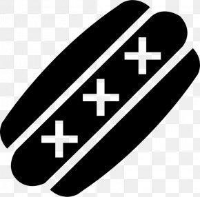 Symbol Black White M - Black Line Background PNG
