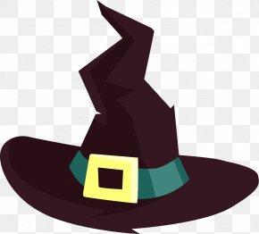 Cartoon Black Hat - Hat Cartoon Clip Art PNG