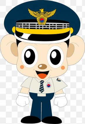 Police Officer Element - Police Officer Cartoon Internet Police PNG