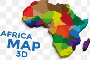 Vector Map Of Africa - Africa Vector Map Euclidean Vector PNG