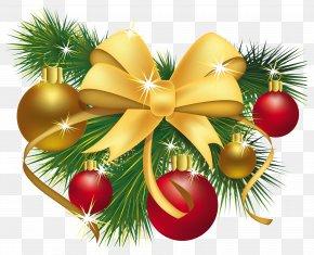 Christmas Decoration - Christmas Decoration Christmas Ornament Gift Clip Art PNG