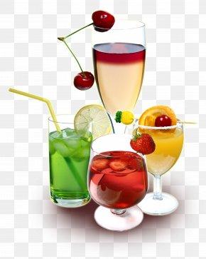 Cup - Juice Sea Breeze Wine Cocktail Cocktail Garnish PNG