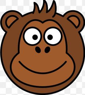 Cartoon Monkey Pictures - Ape Chimpanzee Gorilla Monkey Clip Art PNG