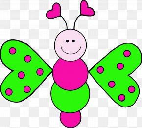 Butterfly Clip Art - Butterfly Child Clip Art PNG