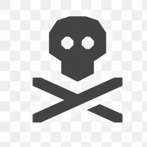 Symbol - Skull And Crossbones Image Clip Art Symbol PNG