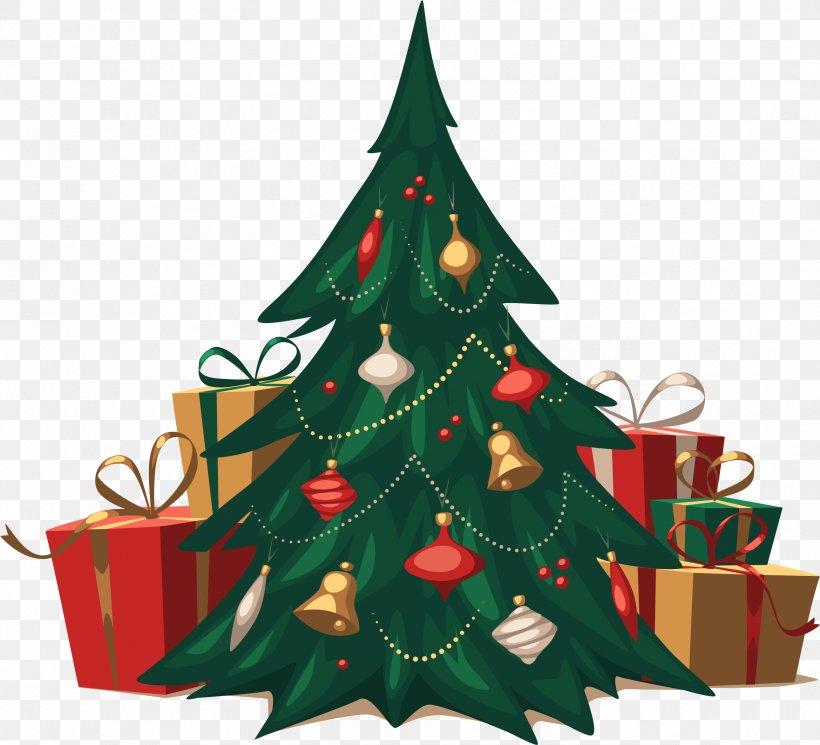Christmas Tree, PNG, 2581x2345px, Christmas Card, Christmas, Christmas Decoration, Christmas Ornament, Christmas Tree Download Free
