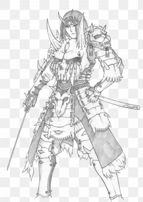 Demon - Drawing Demon Line Art Sketch PNG