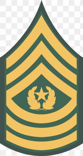 Military - Sergeant Major Of The Army Military Rank Non-commissioned Officer PNG