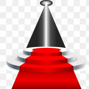 Stage Lighting Red Carpet Vector Material - Stage Carpet PNG
