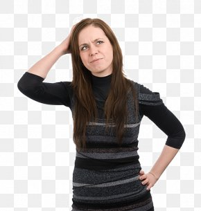 Thinking Woman - Thought Woman PNG
