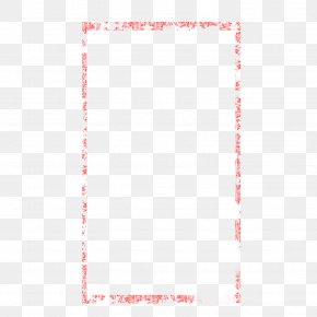 Pink Border Free Material - Square Area Angle Pattern PNG