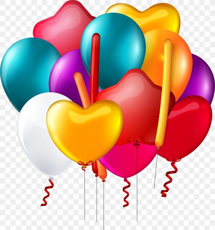 Balloon Birthday Clip Art Desktop Wallpaper, PNG, 5080x5434px, Balloon, Anniversary, Balloon Birthday, Birthday, Birthday Balloons Download Free