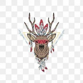 Deer - Deer Horse Painting PNG
