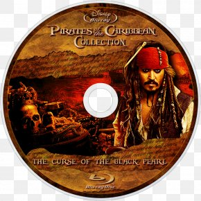 Pirates Of The Caribbean: The Curse Of The Black Pearl - Blu-ray Disc Pirates Of The Caribbean DVD Film Black Pearl PNG