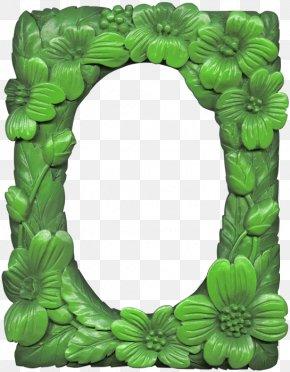 Green Frame - Picture Frame Film Frame Clip Art PNG