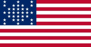 Vector American Flag - Battle Of Fort Sumter Fort Moultrie American Civil War Confederate States Of America PNG