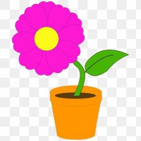 Clay Vector - Flowerpot Houseplant Clip Art PNG