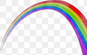 Rainbow Wet Ink - Rainbow Watercolor PNG