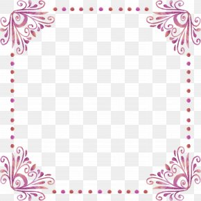 Fancy Lace Border - Picture Frame Image File Formats PNG