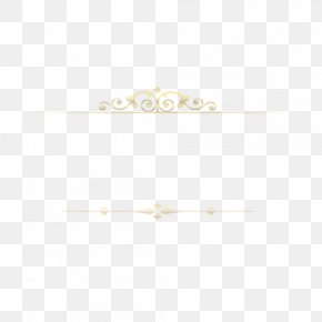 European Gold Border Line - White Pattern PNG