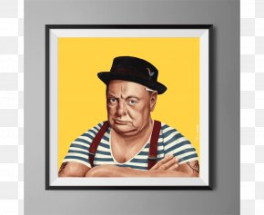 Winston-churchill - Winston Churchill Amit Shimoni Hipstory: Why Be A World Leader When You Could Be A Hipster? Canvas Art PNG