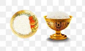 Rice - Yangzhou Fried Rice Thai Cuisine Scrambled Eggs PNG