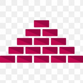 A Pile Of Red Bricks - Brick Icon PNG