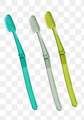 Household Colored Plastic Toothbrush - Toothbrush Plastic Tooth Whitening Toothpaste PNG