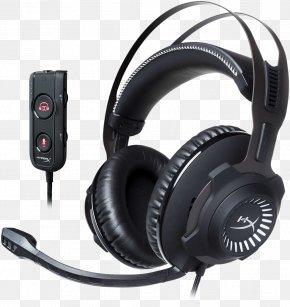 Xbox Headset Switch - Kingston HyperX Cloud II Kingston HyperX Cloud Revolver Headset Kingston Technology PNG