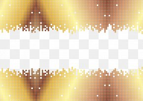 Vector Painted Gold Frame - Euclidean Vector Gold Line PNG