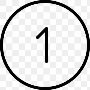Number 1 Icon - Number PNG