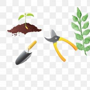 Gardener Shovel - Shovel Garden Tool PNG