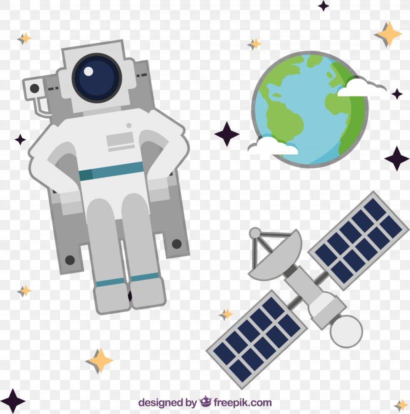 Astronaut Outer Space, PNG, 3065x3095px, Astronaut, Cartoon, Fundal, Lista De Espaxe7onaves Tripuladas, Machine Download Free
