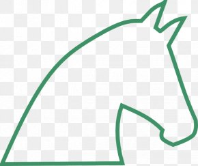 Horse Head Outline - Mustang Tennessee Walking Horse Horseshoe Equestrian Clip Art PNG