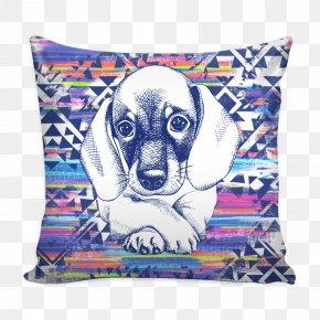 Throw Pillows - Cushion Throw Pillows Textile Dog PNG