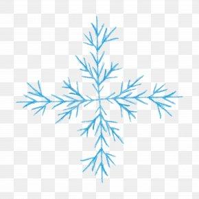 Light Blue Snowflake Decorative Pattern - Snowflake Blue Clip Art PNG