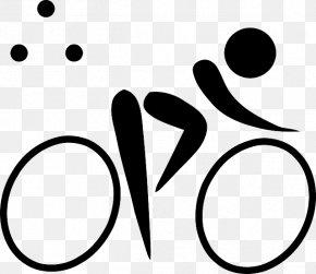 Parachute Cartoon - Summer Olympic Games Triathlon Pictogram Clip Art PNG