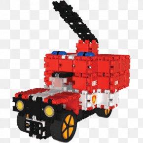 Fire Truck - Fire Department Fire Engine Firefighter Toy Block PNG