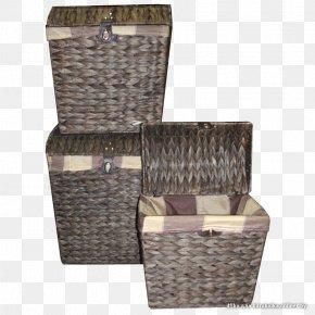 Flea Market - Hamper Wicker Basket Rattan Ротанг PNG