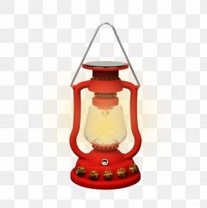 Red Lamps - Street Light Solar Lamp Solar Power Lantern PNG