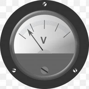 Measuring Instrument - Voltmeter Voltage Direct Current Clip Art PNG