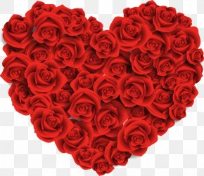 Red Roses Background Png Hearts - Valentine's Day Heart February 14 Portable Network Graphics Clip Art PNG