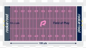 American Football - American Football Field Football Pitch Line Of Scrimmage PNG