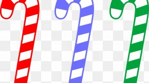 Lollipop - Candy Cane Clip Art Christmas Lollipop Openclipart PNG