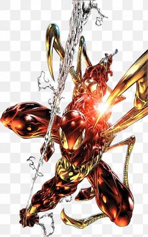 Iron Spiderman Picture - Spider-Man Punisher Iron Spider PNG