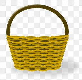 Empty Easter Basket Picture - Vegetable Basket Clip Art PNG