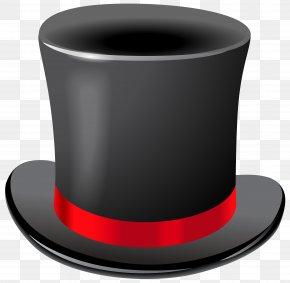 Black Top Hat Transparent Clip Art Image - Top Hat T-shirt Clip Art PNG