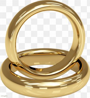 Wedding Ring - Wedding Ring Gold Jewellery Stock Photography PNG