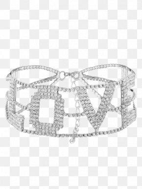 Bling Belts - Necklace Choker Imitation Gemstones & Rhinestones Jewellery Costume Jewelry PNG